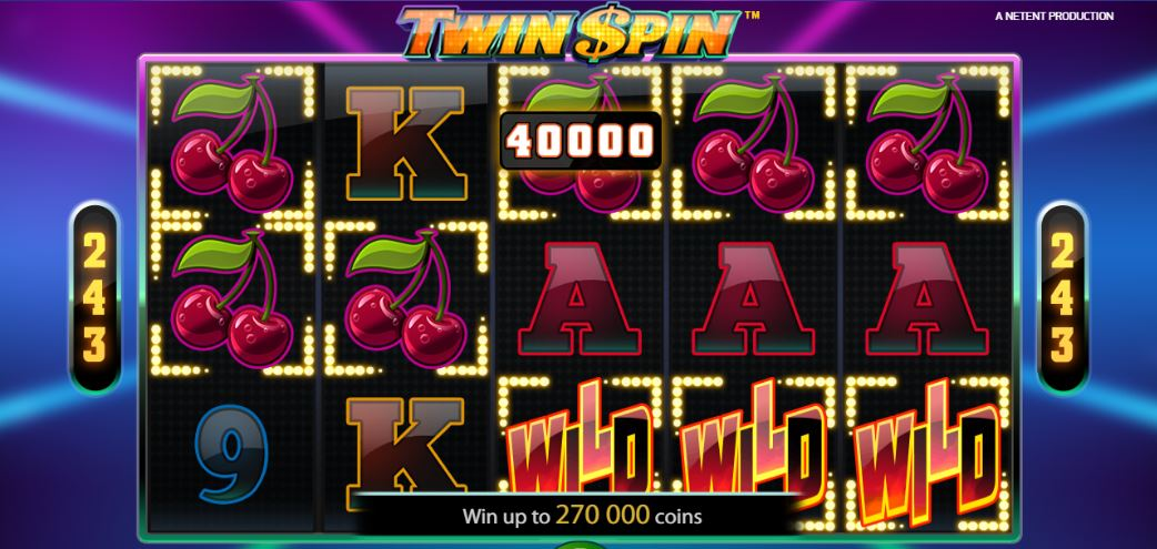 Twin Spin Review Rollen