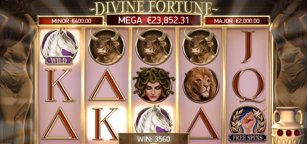 Divine Fortune Review Rollen